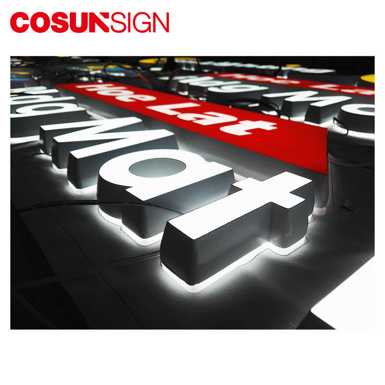 3D Acrylic Letter / Plexiglass Letter Cosun Professional Advertising Supplier