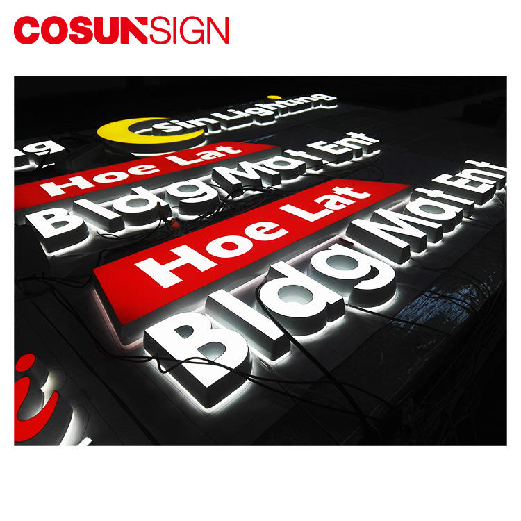 COSUN clear letter sign toppers on-sale for pub club