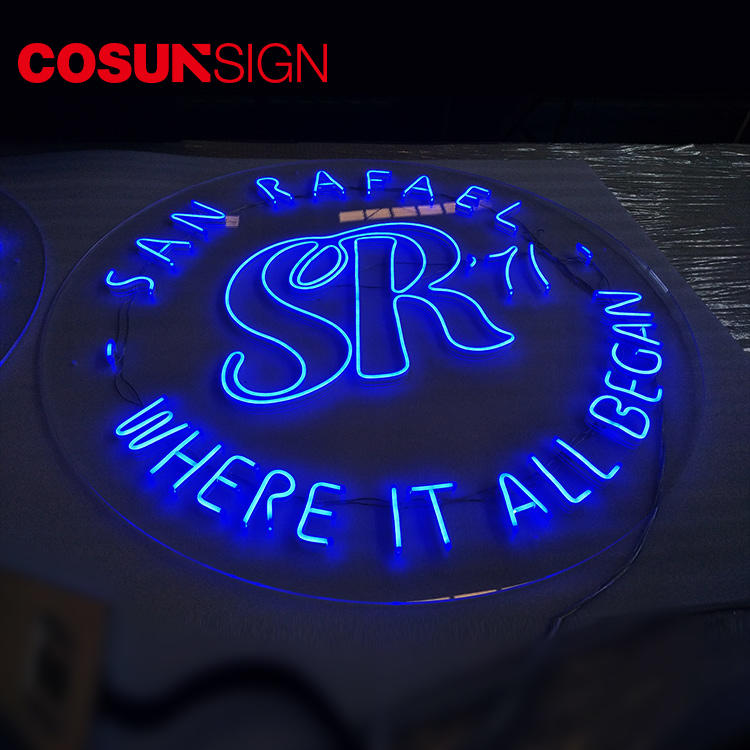 Led Neon Light Sign Cosun Competitive Price Illuminate Flush Mount