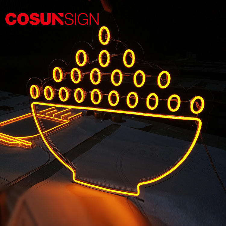 Neon Signs Display Hanging Neon Light Cosunsign Customized Shape