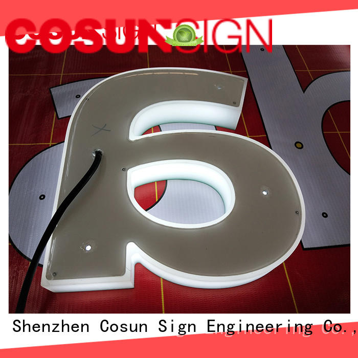 COSUN Best bulk acrylic sign holders easy installation inquire now