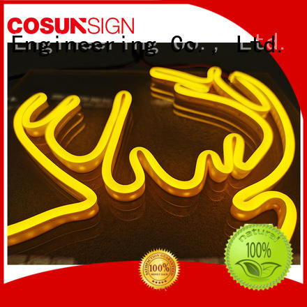 COSUN Wholesale neon house number signs Supply for promotion