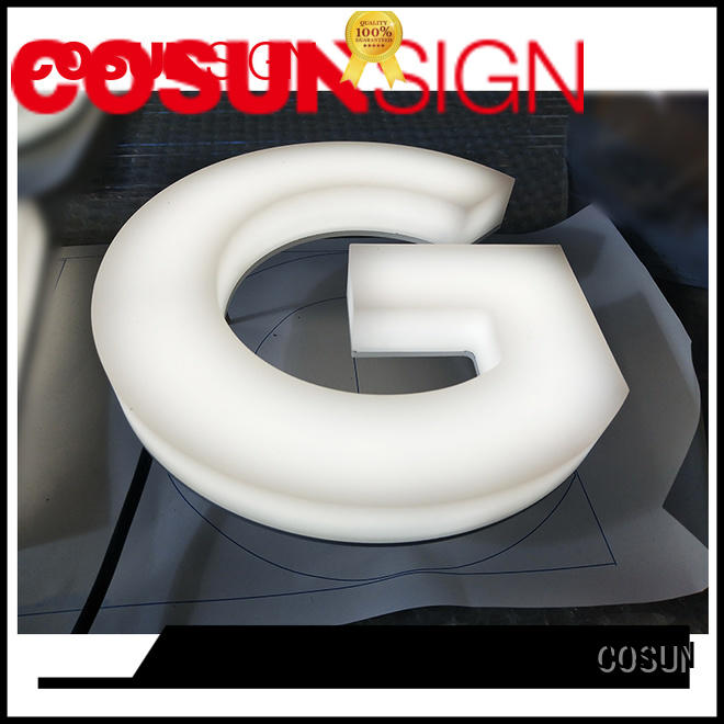 COSUN plastic 8.5 x 11 sign holder for shop