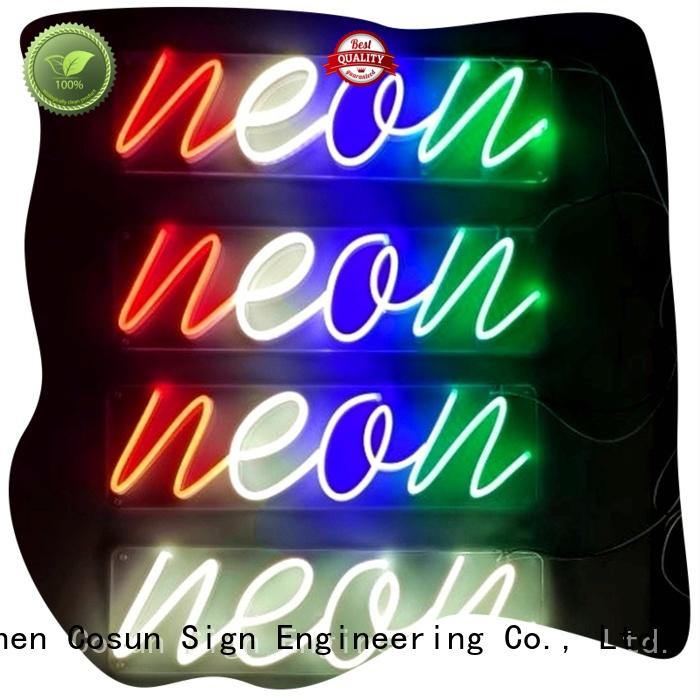 Latest sale neon sign on-sale Suppliers for house