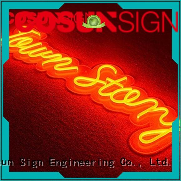 COSUN Best sign letters Supply for decoration