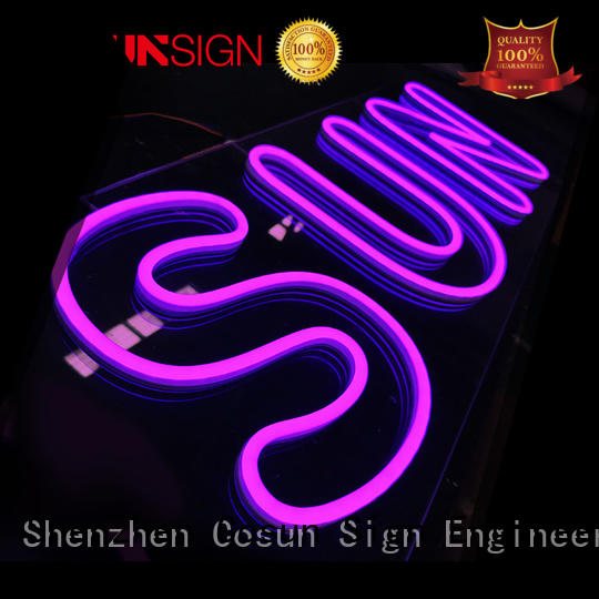 Latest neon house number signs on-sale factory for decoration