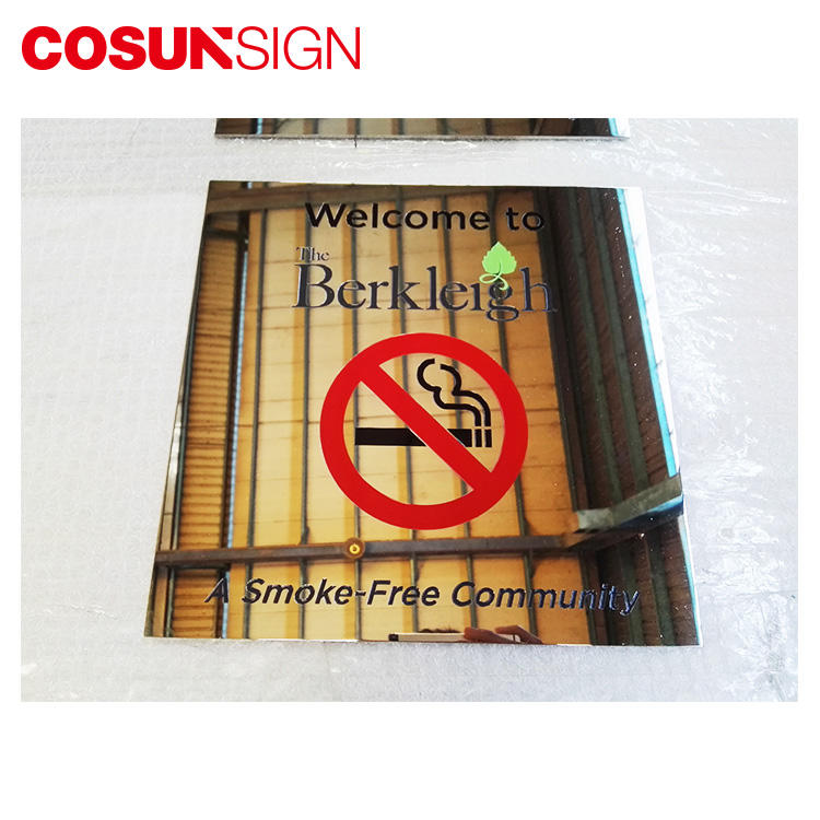 COSUN New glass office signs manufacturers house decoration-1