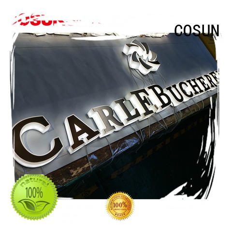 COSUN New triangle sign holder for shop