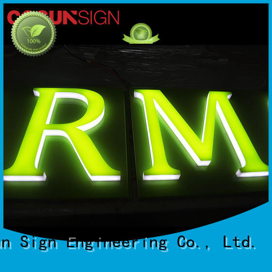 COSUN New acrylic house signs on-sale for restaurant