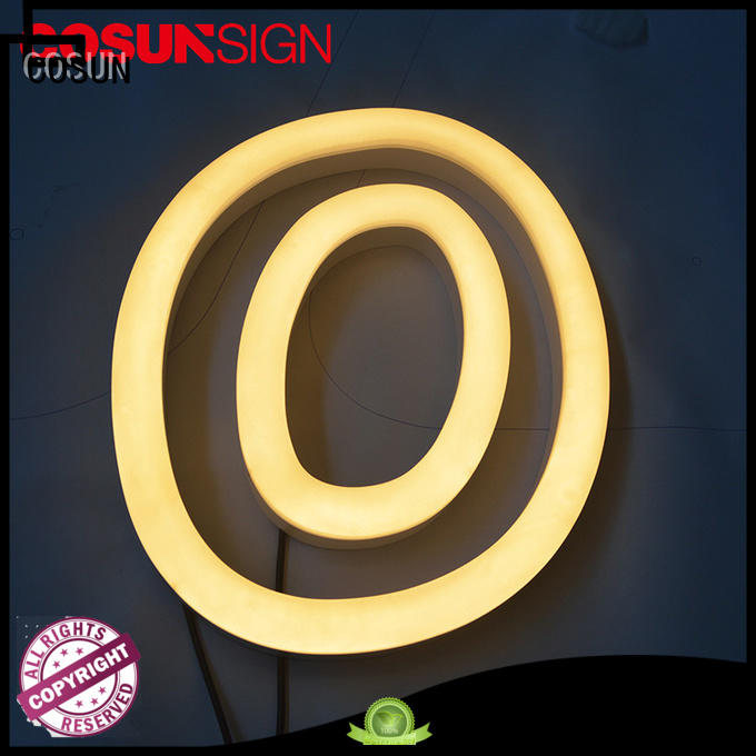 Custom neon writing signs popular factory for decoration