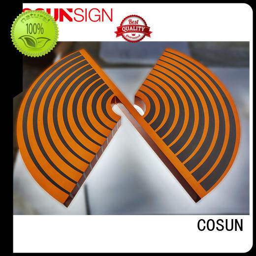 COSUN plastic standing poster holder free sample for shop