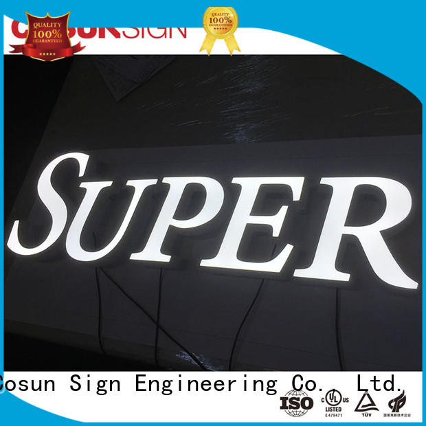 Best custom sign frames led base new for restaurant