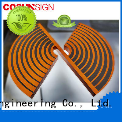 COSUN competitive price acrylic logo maker manufacturers inquire now