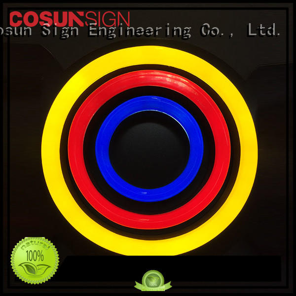COSUN eye-catching how much are neon signs for business for promoting