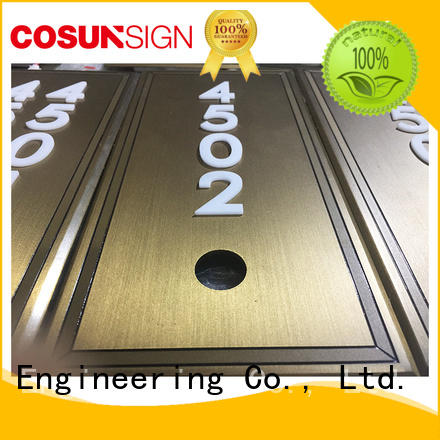 Latest small sign company cnc aluminum for business for decoration