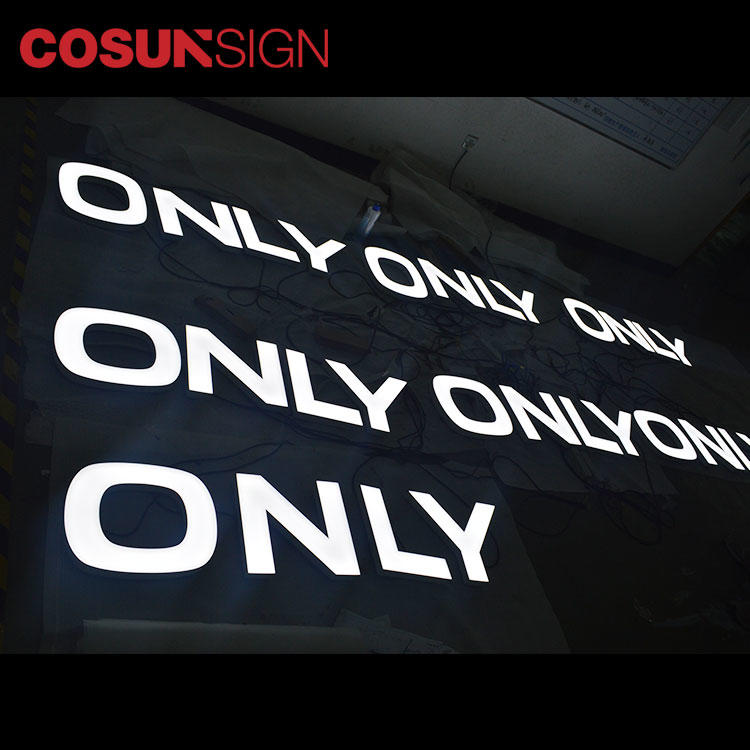 COSUN clear letter elevator sign holder factory for restaurant-2