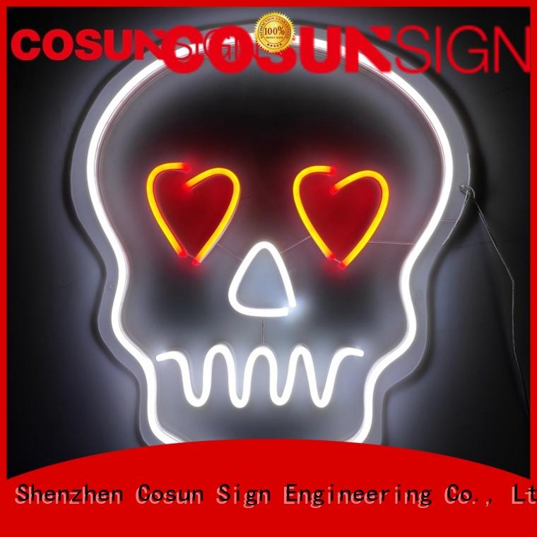 COSUN Latest indoor led signs factory for restaurant