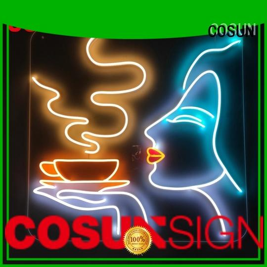 COSUN hot-sale custom made neon signs Suppliers check now