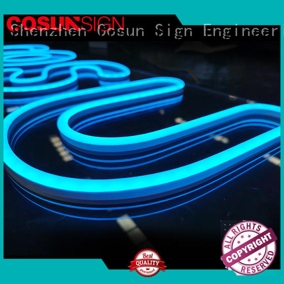 COSUN eye-catching neon sign quotes manufacturers for decoration