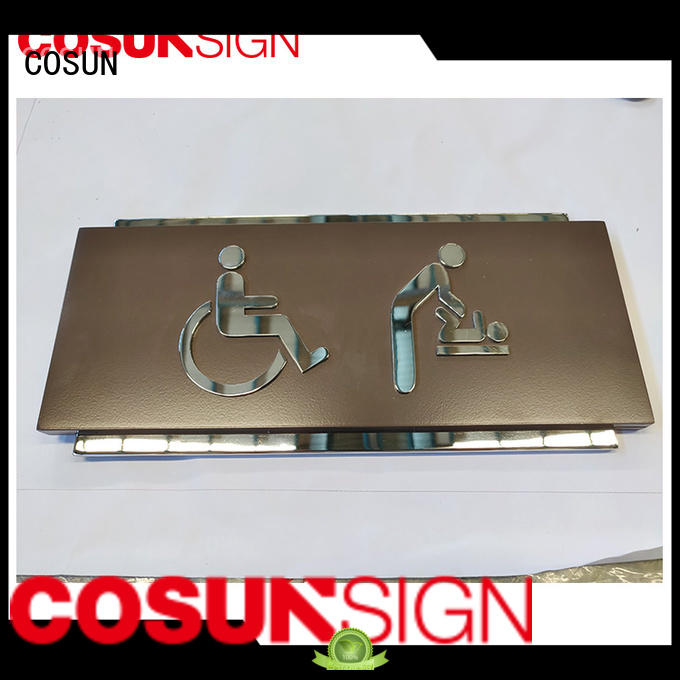COSUN New teenage door signs Suppliers for decoration