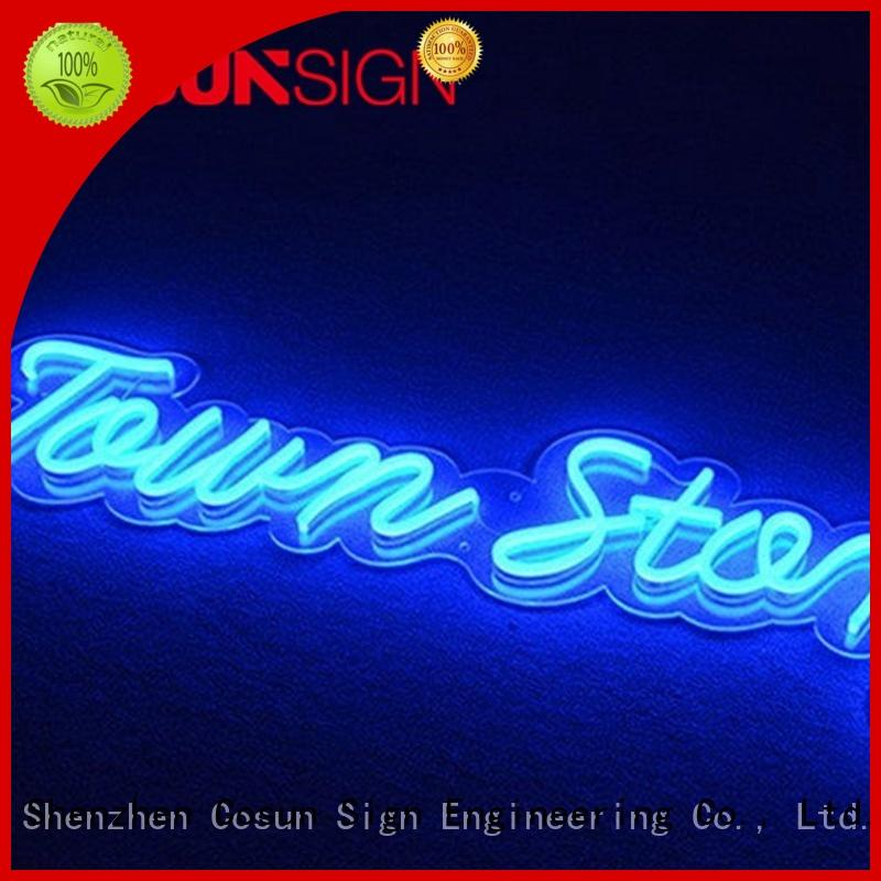 COSUN High-quality neon sign artwork factory check now