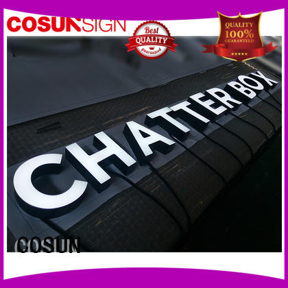 COSUN High-quality small display sign holders for pub club