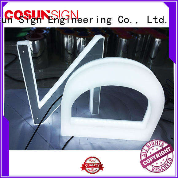 COSUN cheapest price a4 sign stand free sample for shop