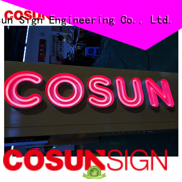 COSUN Latest where can you buy neon signs for business for warning