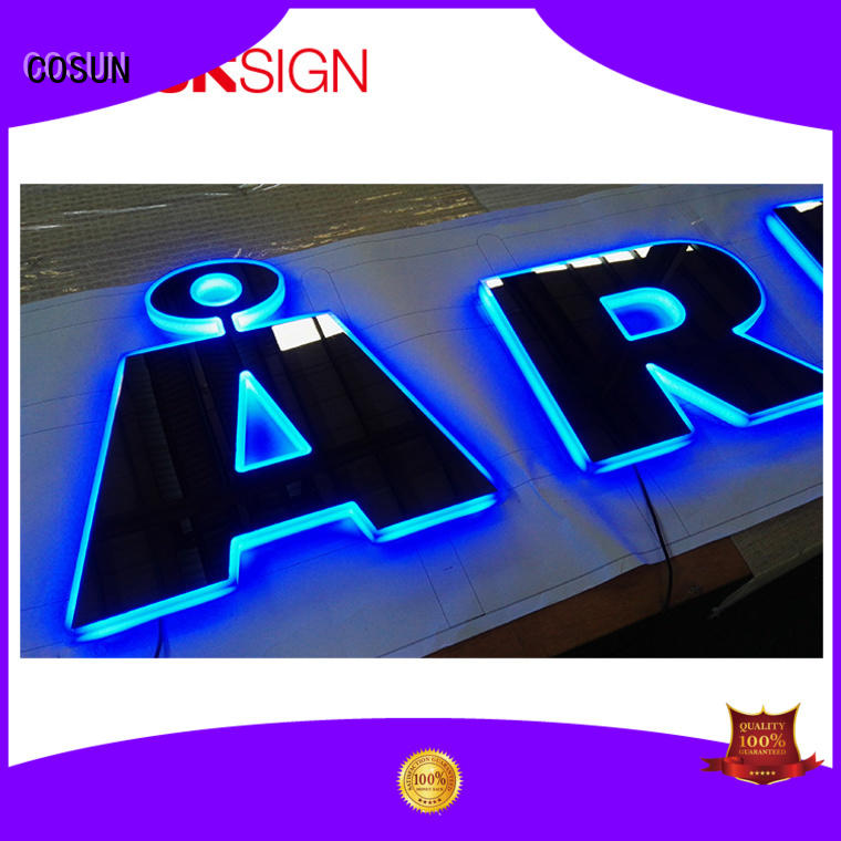 COSUN competitive price a3 signage stand at discount for pub club