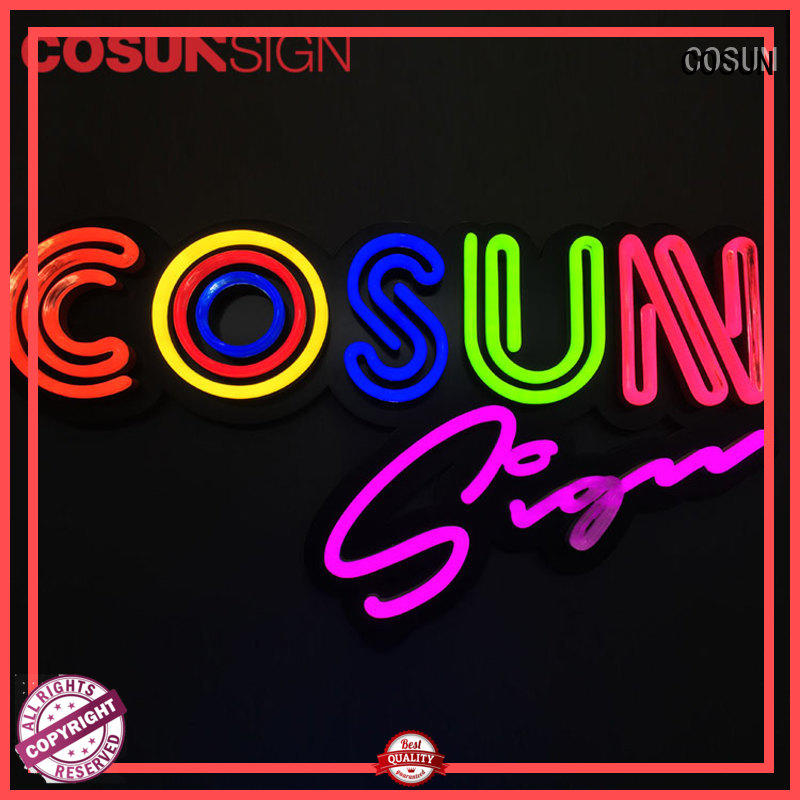 COSUN Top neon lights for room factory