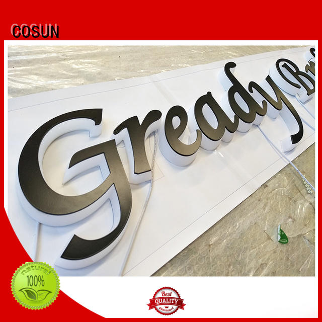 COSUN Latest 3x5 sign holder for shop