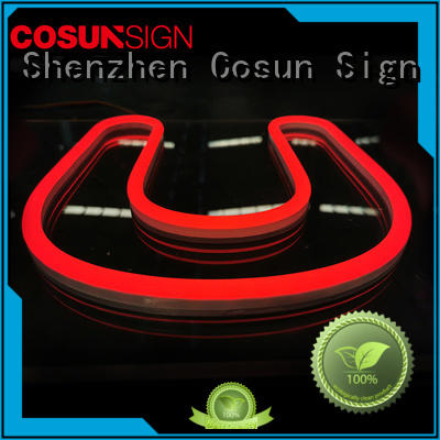 COSUN Custom personalized neon signs for home for business for restaurant