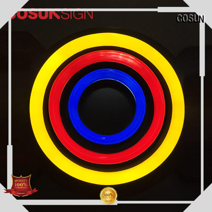 COSUN hot-sale neon window lights factory