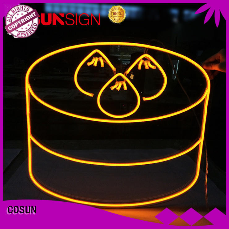 COSUN Latest pink neon light sign Suppliers