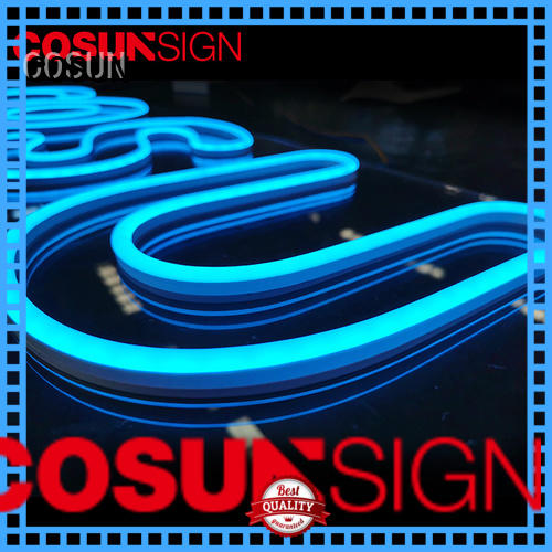 COSUN on-sale led open sign company for promotion