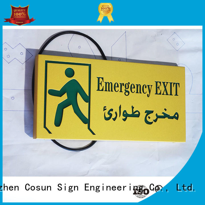 COSUN toilet door signs buy now for toilet signage