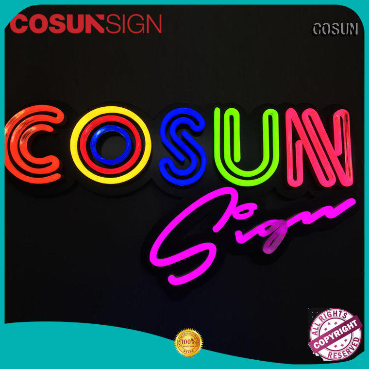 COSUN hot-sale cheap neon signs for sale manufacturers for decoration
