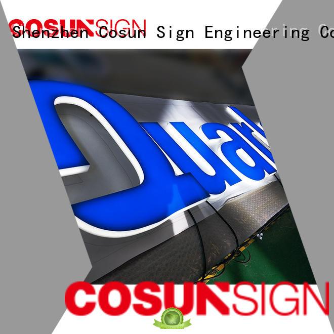 COSUN plastic tripod sign holder for shop