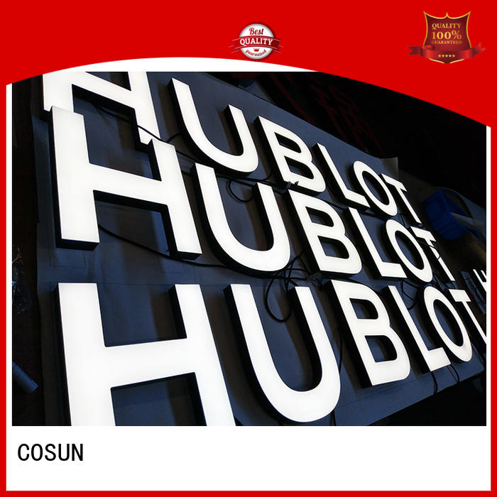 COSUN led base acrylic document stand inquire now