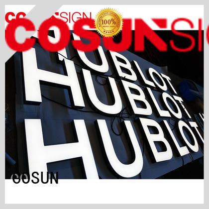 COSUN competitive price poster sign stand easy installation inquire now