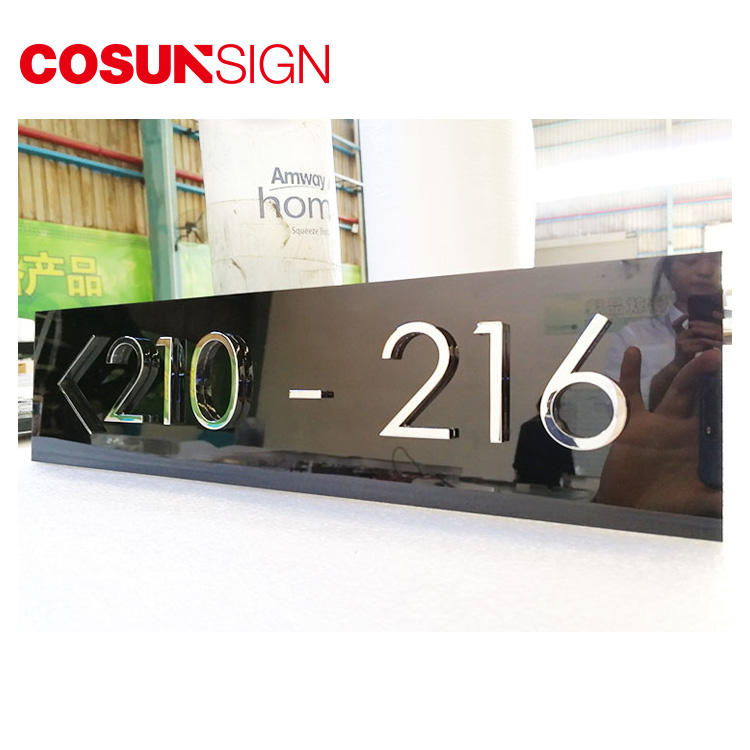 COSUN Custom auto door signage factory for warning-2