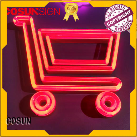 COSUN High-quality neon letter lights for sale factory for decoration