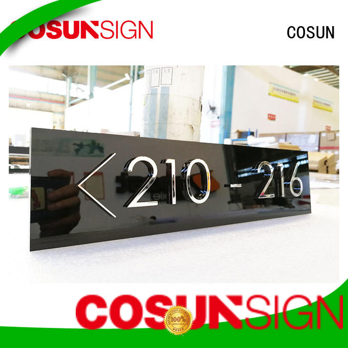 COSUN Best no parking sign for business house decoration