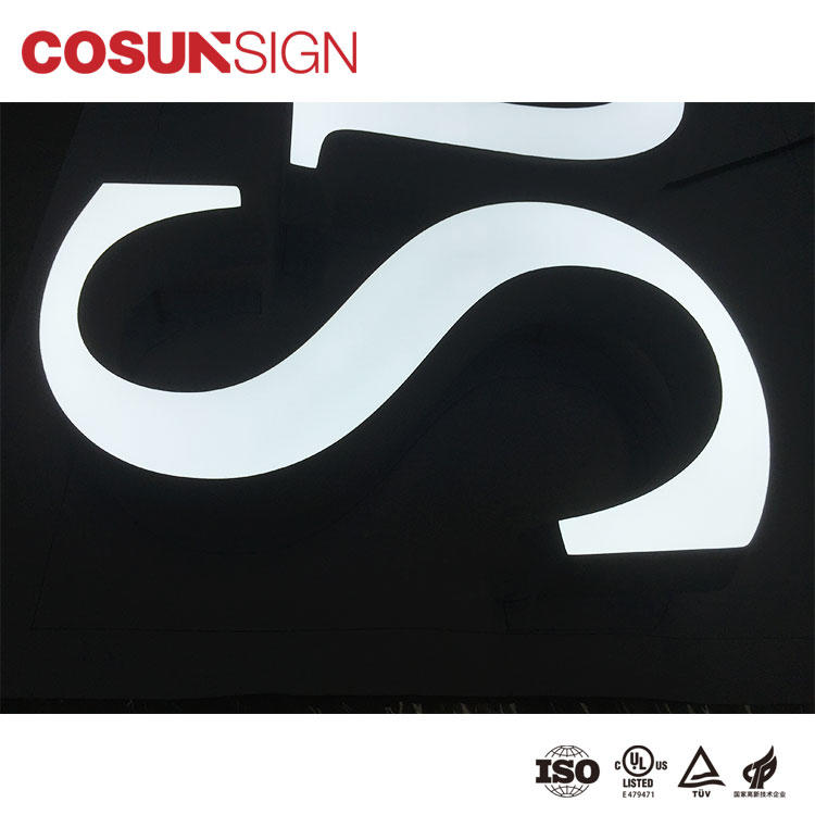 COSUN Wholesale laser etched acrylic signs for business for shop-2