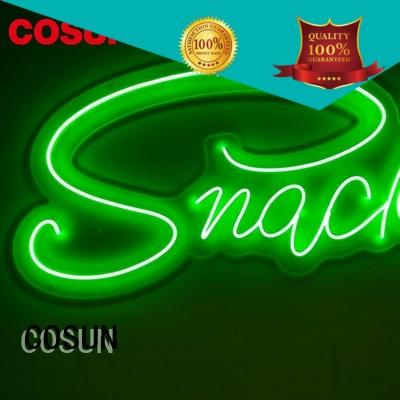 COSUN Top pub neon lights factory for hotel