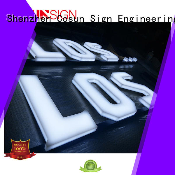 COSUN competitive price 4x6 sign holder free sample for pub club