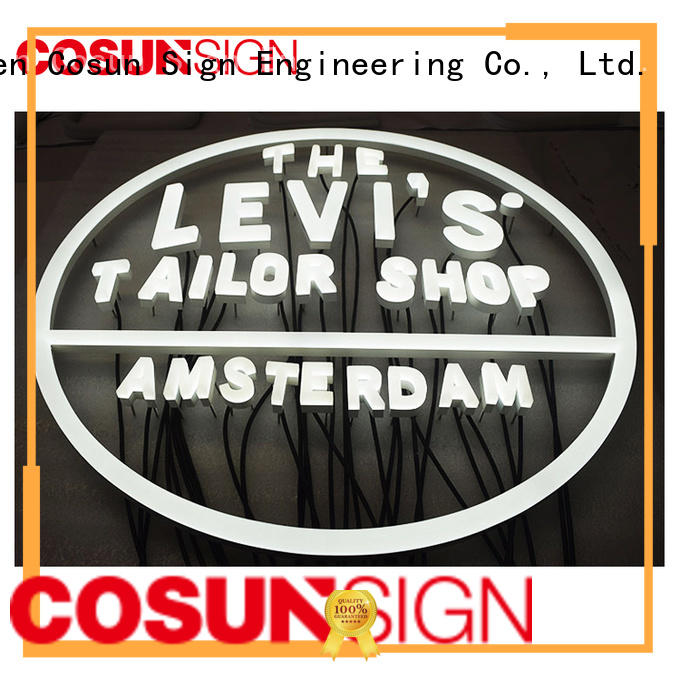 COSUN New custom indoor neon signs for business for promotion