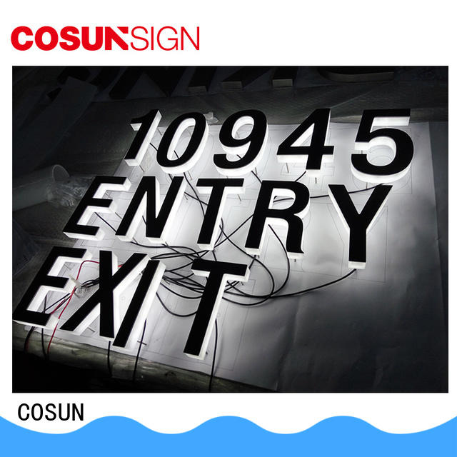 COSUN Best acrylic sign holders adhesive Suppliers for shop