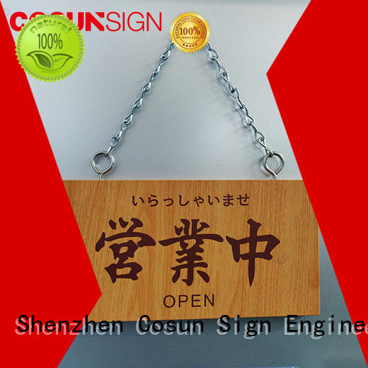 COSUN Wholesale internal door plaques Supply for decoration