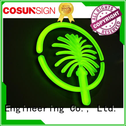 COSUN New girls neon sign Suppliers for restaurant